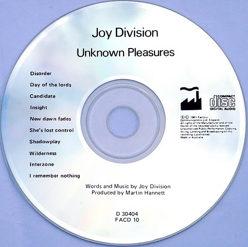 The Unknown Pleasures CD
